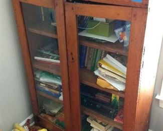 Early Pine Bookcase