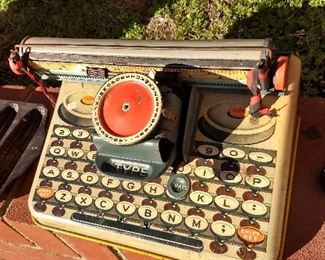 Antique Toy Typewriter