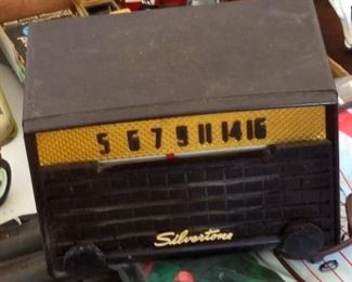 Early 1950's Silvertone Radio