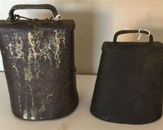Antique Cow Bells
