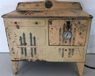 Antique Childs Electric Stove