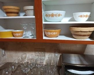 Pyrex and Corning Ware