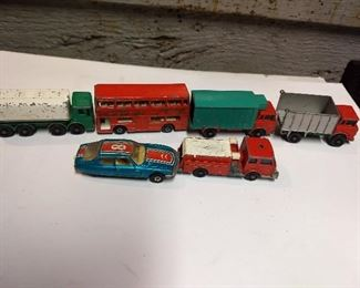 Vintage Matchbox Vehicles