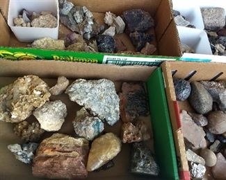 Antique Rock Collection!