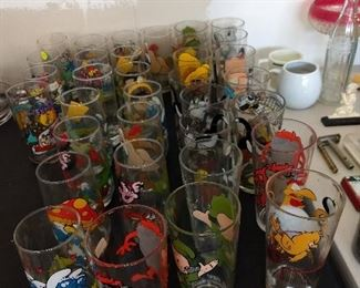 Lots Of Collector Glasses