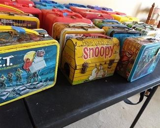 Vintage Lunch Box Collection