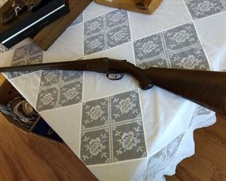 Parker 12 Gauge Double Barrel Shotgun