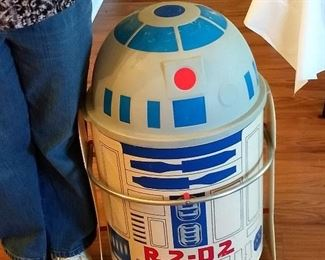 Rare 1983 Return Of The Jedi R2 D2 Robot Toy Chest