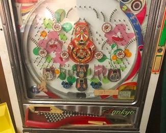 Rare Sankyo Pachinko Machine Vintage Pinball Pin Ball All Original you need this OH MY GAH!