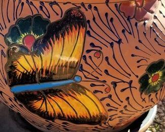 Butterfly pottery!