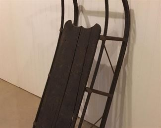 Antique Primitive Sled.