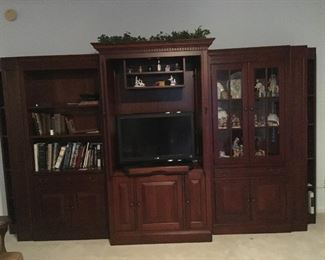 5 part entertainment center ( We will be selling as a whole or separate pieces)