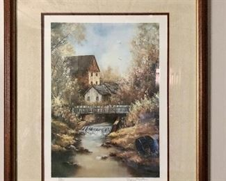 Beautiful painting signed and numbered; Sherry Masters, 231/1000
