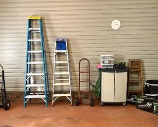 Ladders, hand trucks and more