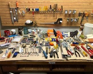 Work shop FULL of all kinds of wonderful tools