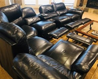 4 built in recliners