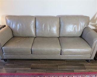 Martha Steward Leather Sofa