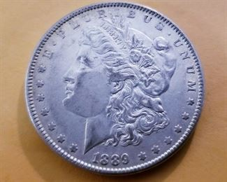 1889 tested silver