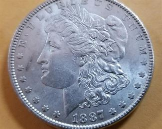 1887 SILVER TESTED