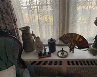 POTTERY PITCHER AND MORE