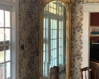 HUGE PIER MIRROR WITH BASE