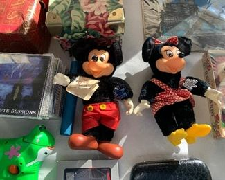 ORIGINAL MICKEY AND MINNIE MOUSE