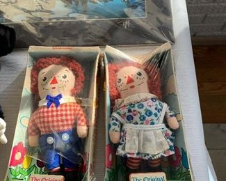 ORIGINAL RAGGADY ANN AND ANDY DOLLS IN ORIGINAL PACKAGE
