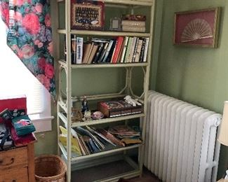 BOOKCASE WITH BOOKS AND MORE