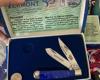 COIN AND KNIFE SETS