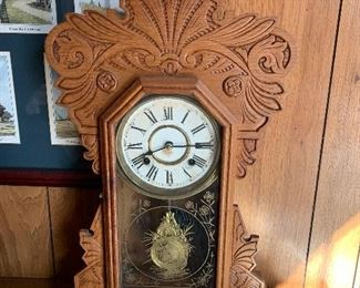 ROOSTER HEAD KITCHEN CLOCK