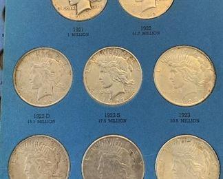 PEACE DOLLARS  KEY DATE 1921 PEACE DOLLAR