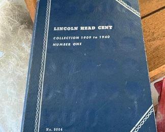 LINCOLN HEAD CENT BOOK