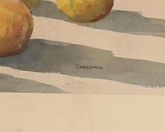 SIGNED TIMBERMAN