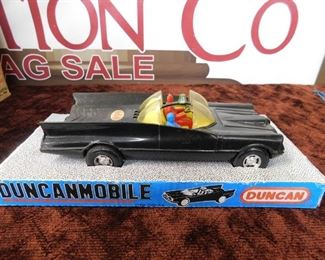 Duncanmobile Batmobile in Original Box