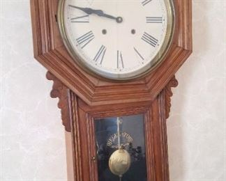 Many clocks throughout....wall clocks, mantle clocks, grandmother clock