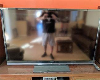 "60"" Sharp Aquos smart tv"
