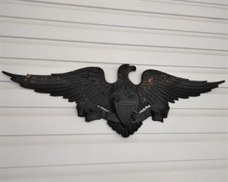 Vintage Sexton metal eagle plaque