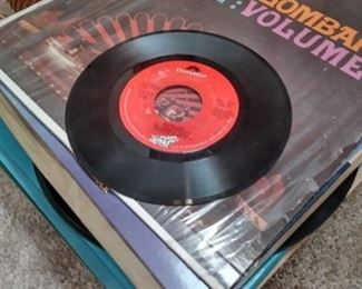 Vinyl records and albums