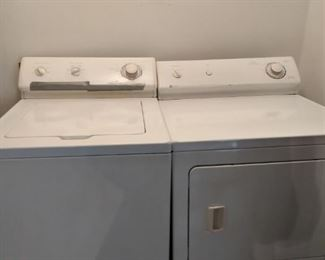 Maytag Electric washer and dryer