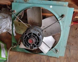 window or attic fan