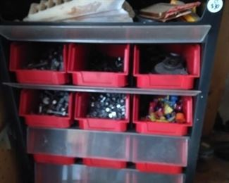 nuts and bolts organizer full