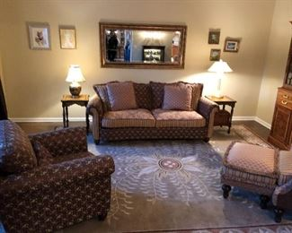 LIVING ROOM FURNITURE BY HICKORY MANOR FROM WHITE HOUSE INTERIORS