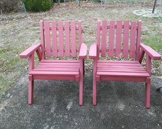 Vintage Adirondack Chairs
