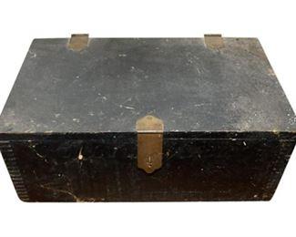 4. Wooden Keepsake Box