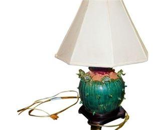 9. Green Frog Lamp