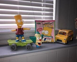 Homer Simpson on skateboard