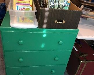 Several small chests of drawers