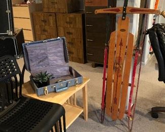 Flexible Flyer antique sled (pristine)