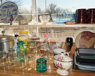 glass and kitchen ware