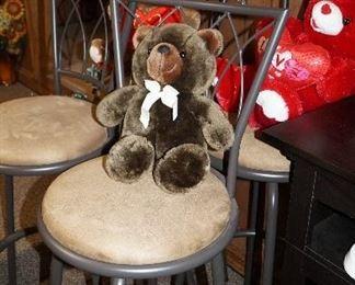 bar stools, bears